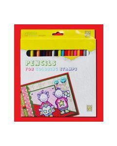 Coloursoft potloden in een doosje voor stempel 8717825162609_small