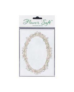Flower Soft kaart Bloemenraam ovaal nr.510088_small