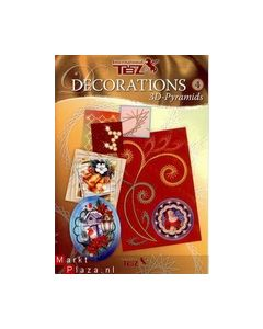 TBZ Decorations 4  3D-Pyramids 303004  Kerst_small