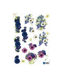 Mattie 3D knipvel MB0120 bloemen_small