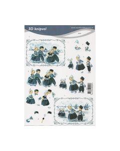 Voorbeeldkaarten 3D knipvel Klederdracht 2020_small