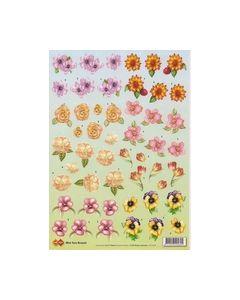 Cardo mini turn Around bloemen CD10030_small