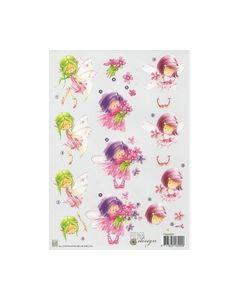 Fema Design Nellie Snellen FEA006 Meisjes met bloemen_small