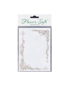 Flower Soft kaart Rechthoek 6 stuks 1115003EEB_small