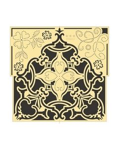 Star Collection stencils vierkant PD0013 Marianne design_small