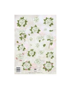 Nel van Veen 2325 Witte rozen_small