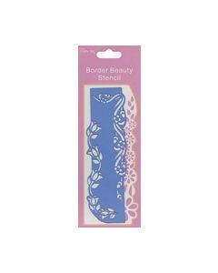 Border Beauty Stencil B118B_small