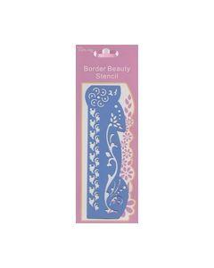 Border Beauty Stencil B120B_small