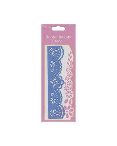 Border Beauty Stencil B125B_small