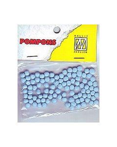 Pompons babyblauw 006 POM006 Nellie Snellen_small