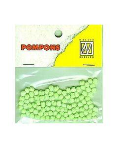 Pompons neogroen 014 POM014 Nellie Snellen_small