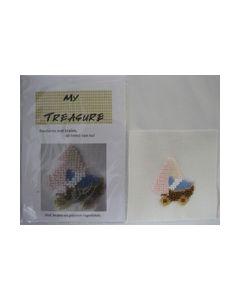 Borduren met kralen Wieg 17019  My Treasure