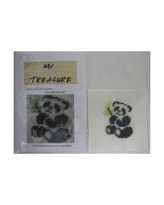 Borduren met kralen Pandabeer 17021 My Treasure_small