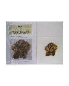 Borduren met kralen hond 17023 My Treasure
