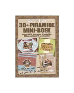 Piramide +3D mini-Boek Ot en Sien    OS3DPYRBOEK02_small