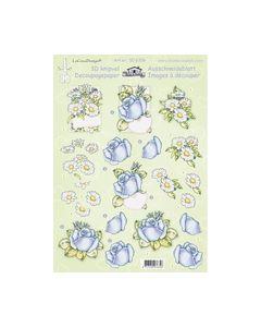 Leanne de graaf 3D Knipvel bloemen Rozen en magriet 50.6356_small