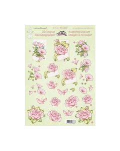 Leanne de graaf 3D Knipvel bloemen Rose Rozen 50.6363_small