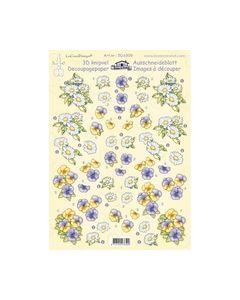 Leanne de graaf 3D Knipvel bloemen kleine violen 50.6509_small