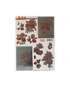 Gestanst metallic 3D etappe vel Rozen Le Suh 6000013_small