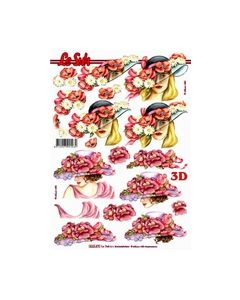 Le Suh 3D Vel Dame met hoed 8215.470_small
