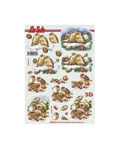 Le Suh 3D Vel Vogels Kerst 8215.431_small