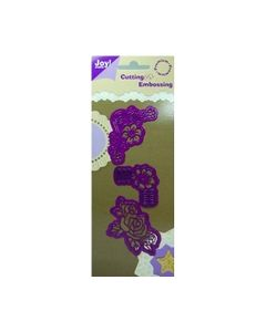 Joy Cutting en embossing Stencil  6002 0032 Bloemen_small