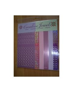 Creative Jewels stickers 6 stuks 62103_small