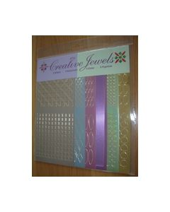 Creative Jewels stickers 6 stuks 62105_small