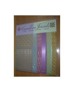 Creative Jewels stickers 6 stuks 62105_small