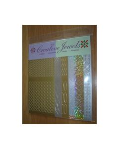 Creative Jewels stickers 6 stuks 62107_small