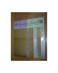 Creative Jewels stickers 6 stuks 62107_small