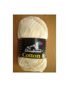 Cotton 8 Scheepjeswol 50 gr. 655 Creme Mayflower_small