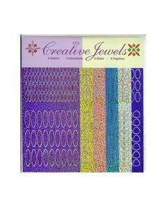 Creative Jewels stickers 6 stuks 62102_small