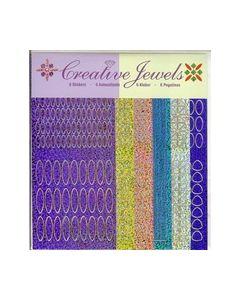Creative Jewels stickers 6 stuks 62102_small