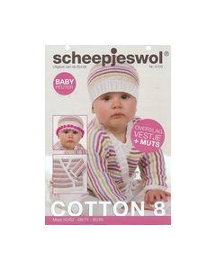 Breipatroontje Scheepjes wol Baby peuter Cotton 8 nr.4103_small