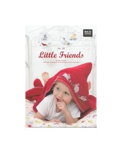 Little Friends Borduur boekje No.126 Rico Design_small