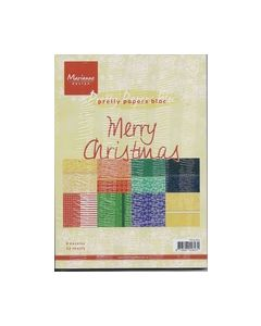 Pretty Papers Bloc Merry Christmas PK9069_small