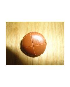 Knoop voetbal handgemaakt 100 36 kleur bruin 975_small