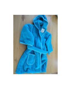 Kinderbadjasje Blauw met bordduurrand 74022900 Rico Design_small