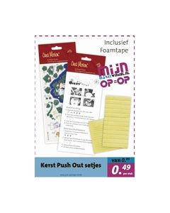 Mijnmarktwinkelfolder5 Kerst Push Out set Crea Motion MW-092_small