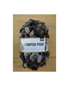 Pompon Print Multi Chcolate 009 Rico Design_small