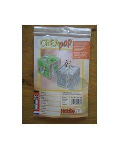 Creapop Kubus ca. 8 cm art.nr. 3901 719_small