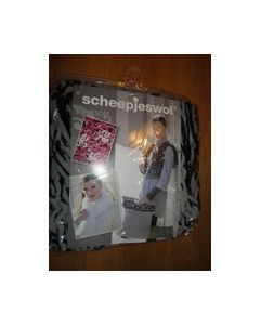 Eline Soft Scheepjeswol nr2 zwart licht grijs 8717738995936_small