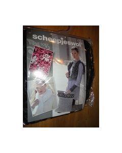 Eline Soft Scheepjeswol nr.1 Zwart-Bruin 8717738995929_small