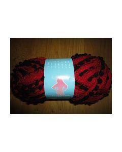 Ariana Pompon scheepjeswol rood zwart 9.nr.8717738996124_small