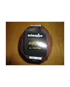 Softfun Scheepjes 50 gram bruin 2491_small