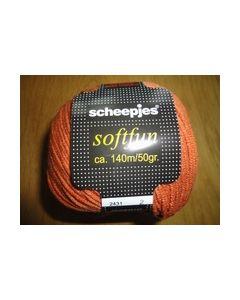 Softfun Scheepjes 50 gram 2431 Roestbruin_small