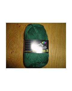 Cotton 8 Scheepjeswol 50 gr. Groen 713_small