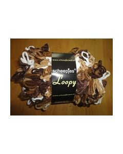 Loopy Scheepjes kl.6 mix bruin room wit 8717738998876_small