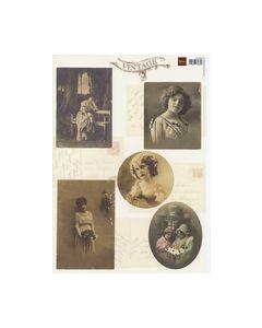 Vintage Knipvel dames meisjes VK9524_small